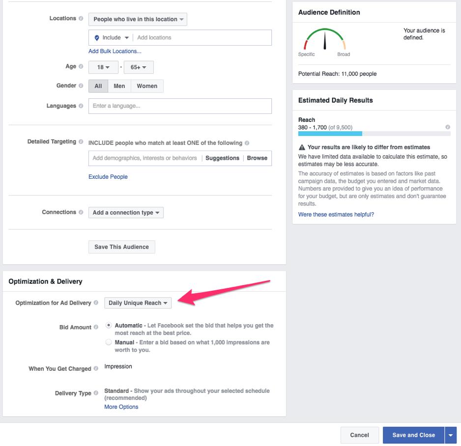 Facebook-ads-target-audience