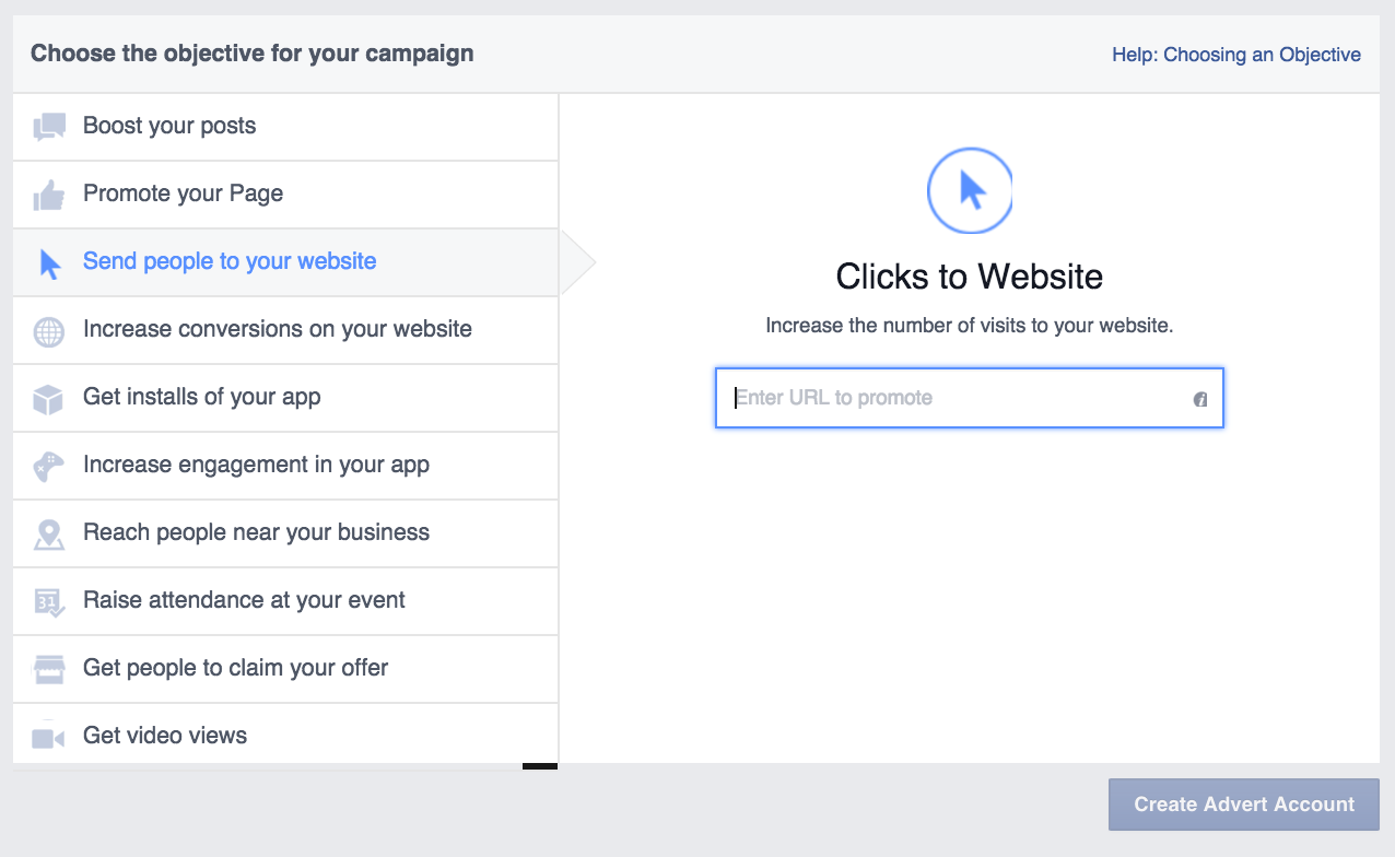 Facebook-ads-objective