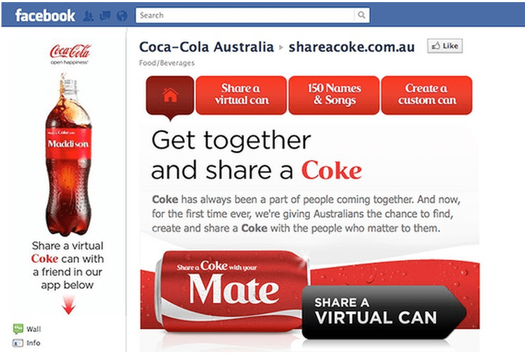 Coca Cola Facebook Ads – Learn from the Best | PowerAdspy