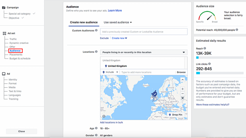 ad-targeting-Facebook-by-location