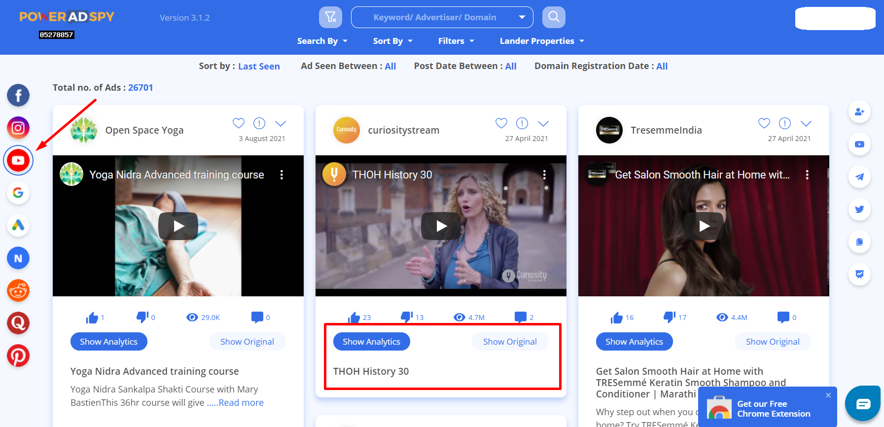 how-to-search-youtube-ads